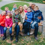 Lucie aRey vobklopení dětí