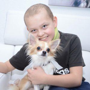 Náročnou onkologickou léčbou si Jakub prošel hned dvakrát