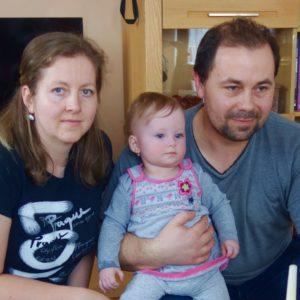 Na své jediné dítě manželé čekali 10 let, Eliška se narodila snevyléčitelným onemocněním