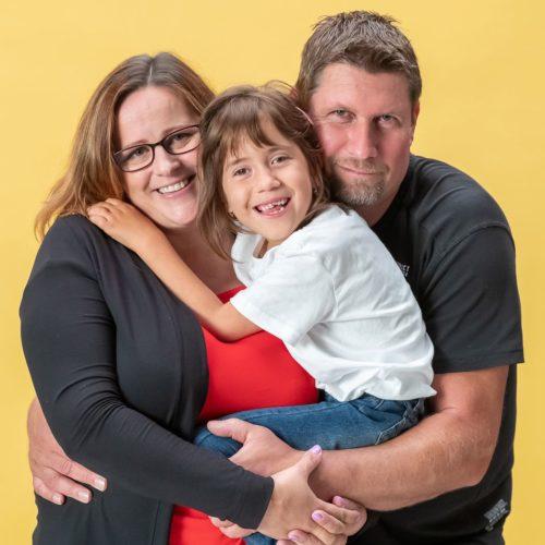 Nellinka s rodiči