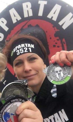 Martina na Spartan Race